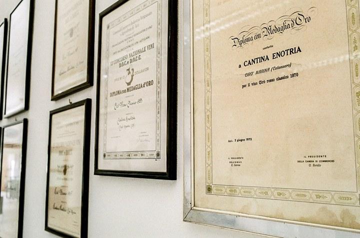 Enotria è cantina e vigneto dal 1974, quando tre uomini a #CiròMarina decisero di…