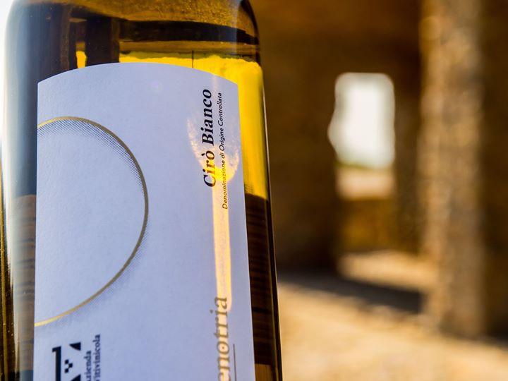 Greco bianco 100%. Il nostro Cirò Doc Etichetta Oro racconta del sole della #Calabria,…