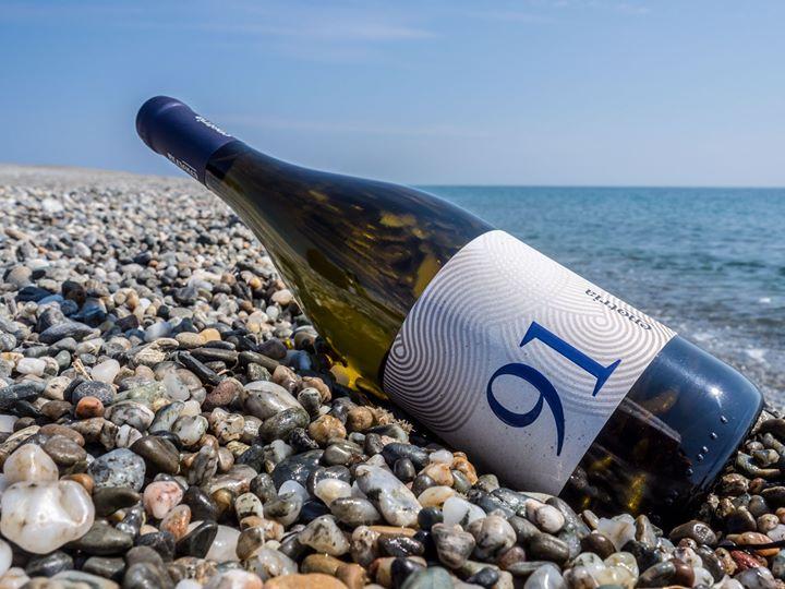 91. Il nostro 91 porta il nome di una spiaggia. Dai filari si arriva…